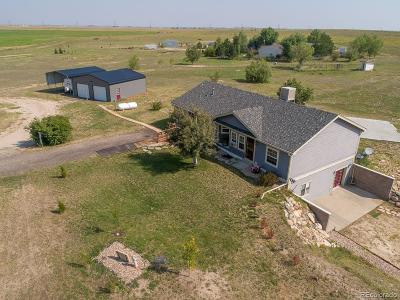 Strasburg Single Family Home Under Contract: 54949 East County Road 42