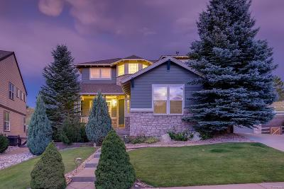 Castle Pines Single Family Home Active: 8406 Winter Berry Drive