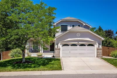 Lone Tree Single Family Home Active: 8731 Grand Cypress Lane