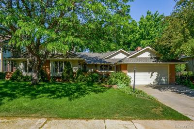 Centennial Single Family Home Active: 7777 South Forest Court