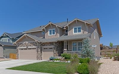 Castle Rock Single Family Home Active: 2455 Fairway Wood Circle
