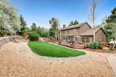 Castle Pines Single Family Home Under Contract: 7463 Berkeley Court