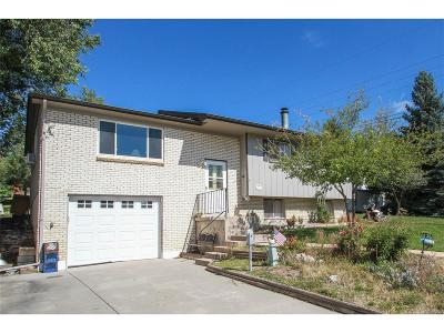 Castle Rock Single Family Home Under Contract: 31 Circle Drive
