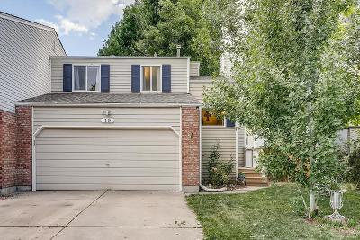 Longmont Condo/Townhouse Under Contract: 19 12th Avenue