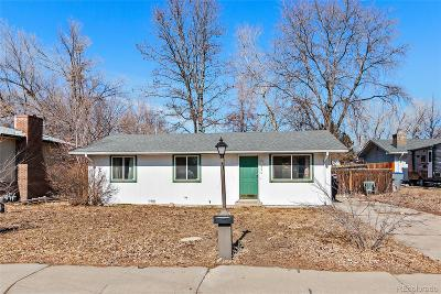 Boulder County Single Family Home Active: 336 Meeker Place