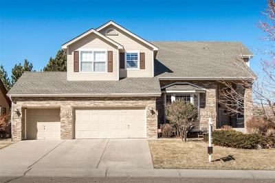 Castle Pines CO Single Family Home Under Contract: $574,900