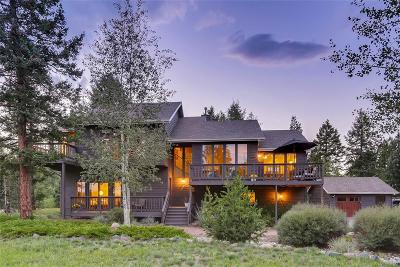 Evergreen Single Family Home Under Contract: 25357 Giant Gulch Road