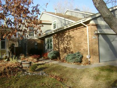 Denver Condo/Townhouse Active: 7745 East Gunnison Place
