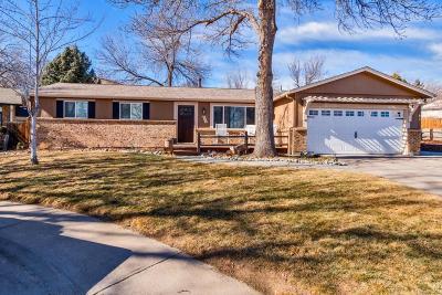 Centennial Single Family Home Under Contract: 6250 South Colorado Boulevard