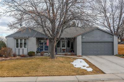 Centennial Single Family Home Under Contract: 7572 South Fillmore Way