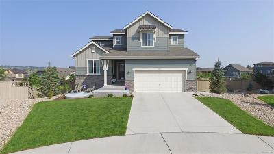 Castle Rock Single Family Home Under Contract: 4181 Dunsinane Court