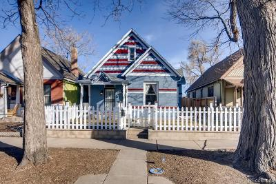 Denver Single Family Home Under Contract: 3774 North Williams Street