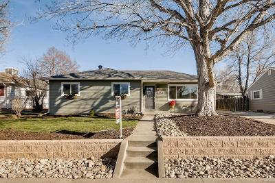 Denver Single Family Home Active: 1850 South Filbert Court