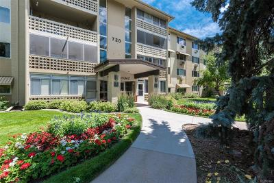 Denver Condo/Townhouse Active: 720 South Clinton Street #3B