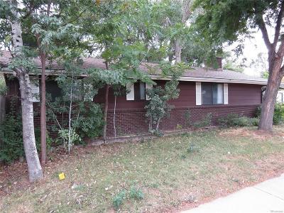Longmont Single Family Home Under Contract: 2250 Jewel Street