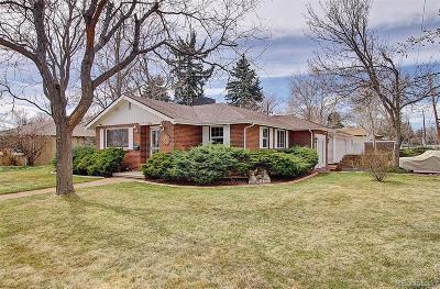 Lakewood CO Single Family Home Active: $550,000