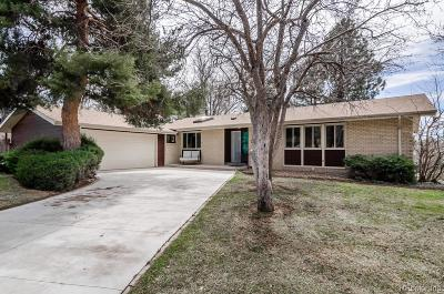 Littleton Single Family Home Under Contract: 2191 West Arapahoe Drive
