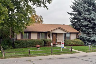 Arvada Single Family Home Under Contract: 6535 Dover Street