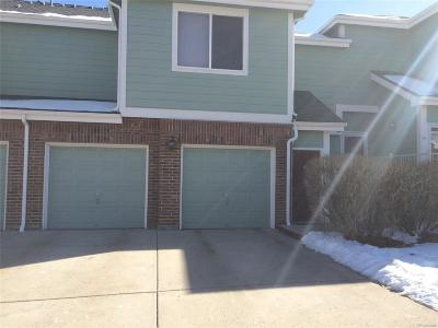 Arvada Condo/Townhouse Under Contract: 5536 Lewis Court #104