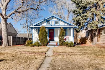 Denver Single Family Home Active: 147 Raleigh Street
