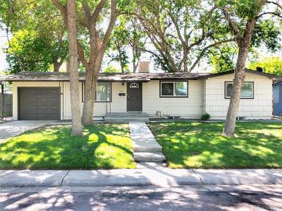 Denver Single Family Home Active: 7880 Valley View Drive