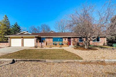 Arvada Single Family Home Under Contract: 9725 West 73rd Avenue