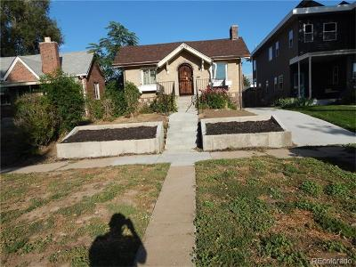 Denver Single Family Home Active: 2628 North Josephine Street