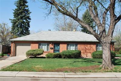 Aurora Single Family Home Under Contract: 915 Quentin Street