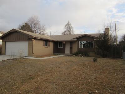 Aurora Single Family Home Active: 15344 East 10th Avenue