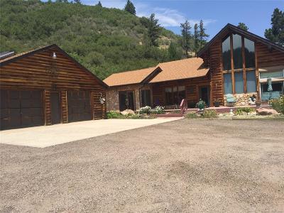 Sedalia Single Family Home Under Contract: 7220 Box Canyon Road