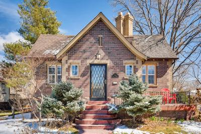 Denver Single Family Home Active: 1400 Forest Street