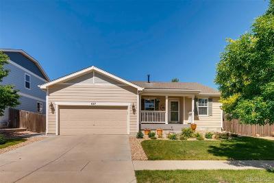 Brighton Single Family Home Under Contract: 627 North 48th Avenue