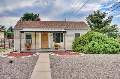 Denver Single Family Home Active: 1801 South Cook Street
