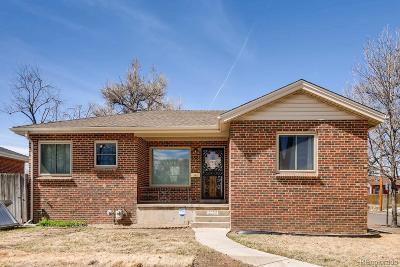 Denver Single Family Home Active: 2995 Cherry Street