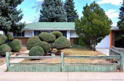Denver Single Family Home Active: 1902 South Paseo Way