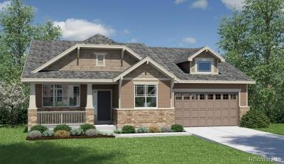 Castle Rock Single Family Home Active: 4468 Sidewinder Loop