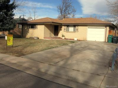 Lakewood Single Family Home Under Contract: 7833 West Iowa Drive