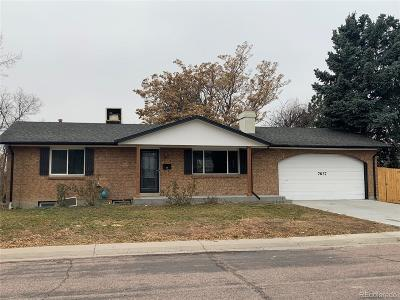 Aurora, Denver Single Family Home Under Contract: 7637 Grace Place