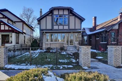 Washington Park Single Family Home Under Contract: 777 South Downing Street