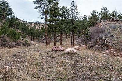 Boulder Residential Lots & Land Active: 2144 Lefthand Canyon Drive