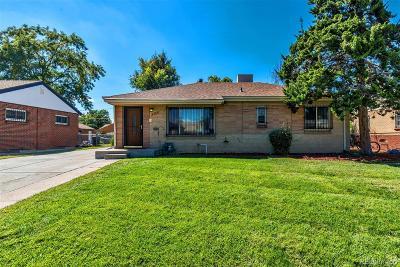 Denver Single Family Home Under Contract: 3561 Pontiac Street