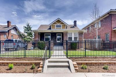 Denver Single Family Home Active: 618 South Gilpin Street