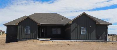 Elbert County Single Family Home Under Contract: 37730 Wild Horse Trail