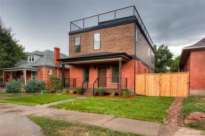 Denver Single Family Home Active: 1240 South Clarkson Street