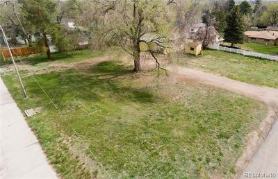 Lakewood CO Residential Lots & Land Active: $175,000