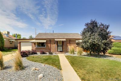 Denver Single Family Home Active: 3039 Wilson Court