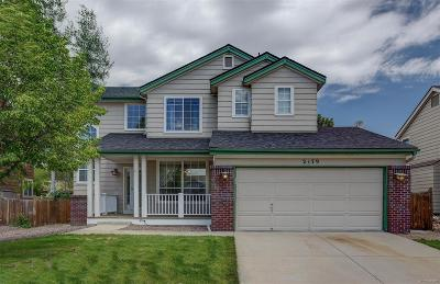 Castle Rock Single Family Home Active: 2179 Sandhurst Drive