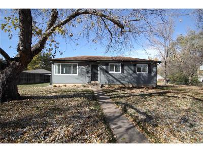 Denver Single Family Home Active: 2515 South Race Street