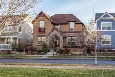 Denver Single Family Home Under Contract: 8628 East 25th Drive