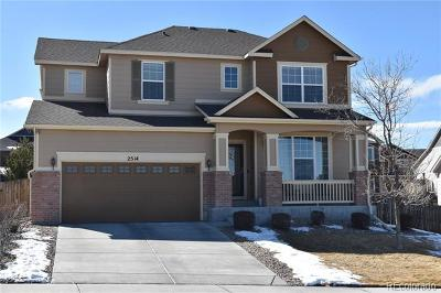 Castle Rock Single Family Home Active: 2514 Fairway Wood Circle
